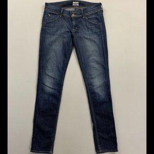 Hudson Women's Blue Skinny Fit Jeans Size 27